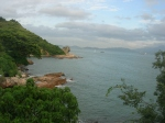 View out of house on Lamma Island