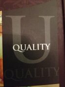 Why U for Quality