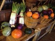 Vegetables gathered...