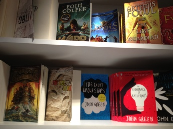 A few favorites on the shelf.