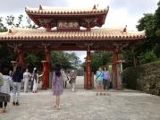 Entering Shurijo Castle Park.