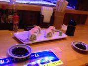 Perfect sushi.
