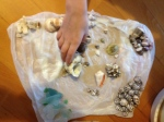 Kiddo sorted out shells