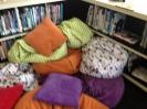 My kiddo made a den...