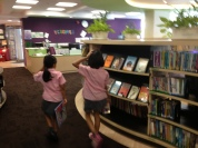 Year 3 (2nd Grade) learned to shelve everything but NF... Enthusiastic!