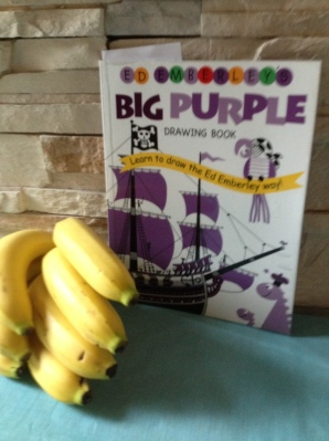 Big Purple Drawing Book