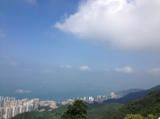 Hong Kong has some gorgeous green views.