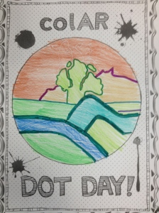 Dot Day app image also matches our school logo!
