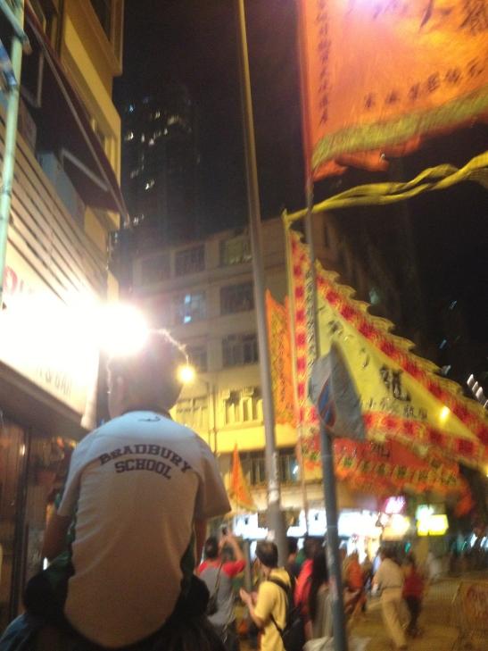 Heading to Tai Hang road!