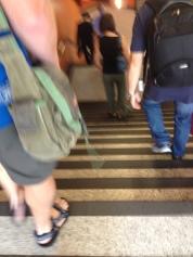 Intimidating stairs.