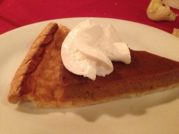 Ok pumpkin pie, made me miss pie from home...