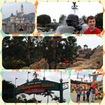 Disneyland visit day 1!