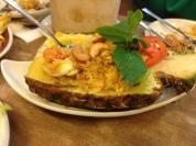 Pineapple fried rice...