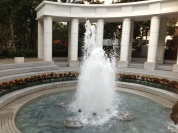 A little more fountain...