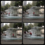 Fun at the fountain...