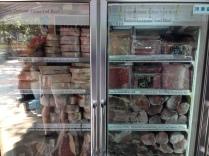 So much frozen meat!