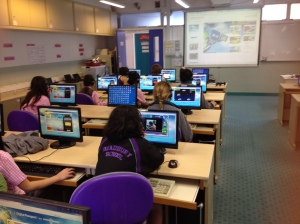 Teaching digital citizenship with Digital Passport.