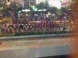 Parade is starting.