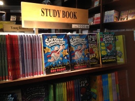 Captain Underpants, to study with...