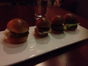 Kiddo's sliders, he enjoyed his meal...