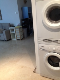 A washer AND dryer- that's something new!