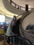 Round escalator, supporting 4Nathalie