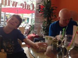 Hello Hanoi! First stop? Cafe Wifi! Delicious smoothies!