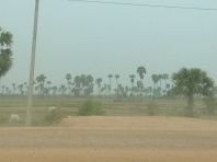 Car ride to Siem Reap