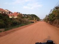 Dirt roads...