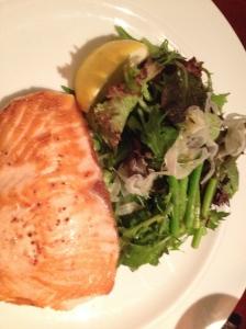 Happy day to salmon treats...