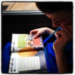 Minecraft book can be absorbing...