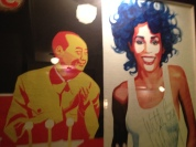 Whitney Houston signed the picture, memories...