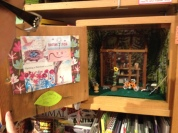Miniature box in non-fiction area... love.