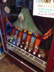 Vending machine that sells homemade finger puppets!