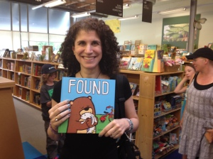 Visiting Powells Books, I was so happy to find Found by Salina Yoon!