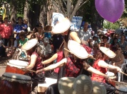 The energy of these drummers was contagious!