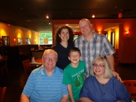 Group shot, love my parents...