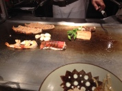 Seafood cooking time! I see my salmon there!