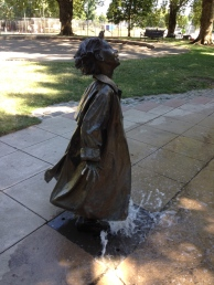 Because there was the Beverly Cleary garden- Ramona Quimby.