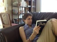I enjoyed reading, reading, reading...