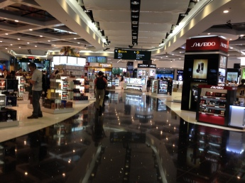 Shopping opportunities abound when you just want to get to your gate...