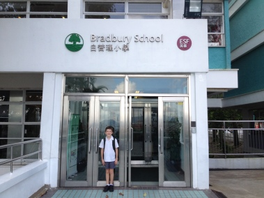 Kiddo is now in Year 5, growing up!