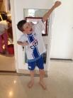 Kiddo is beginning new football/soccer team.