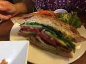 Sheli's sandwich.