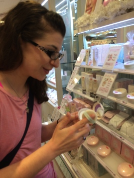 Finally brought Rachel to the place I knew she'd love- Etude House...