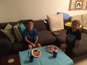 Kids liked having their own space to chat and eat.