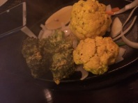 Liked the broccoli and cauliflower, healthy and yummy!