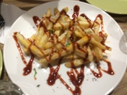 Fries were enjoyed by my guys...