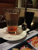 Husband tried rosehip fruit tea