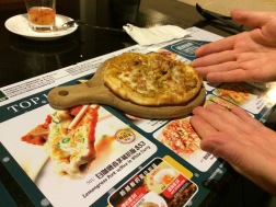 Iddy bitty little pizza!!